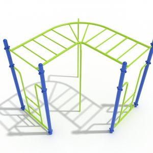 90-Degree Straight Rung Horizontal Ladder