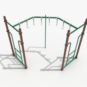 90-Degree Swinging Ring Ladder
