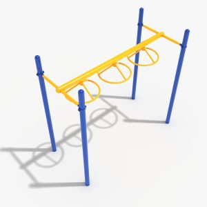 3-Wheel Swing Ladder