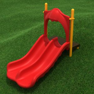 3-foot Double Straight Slide