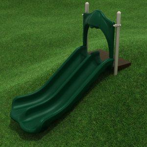 4 Foot Double Straight Embankment Slide