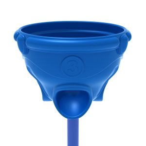 Funnel Ball Game – Pacific Blue Post and Top