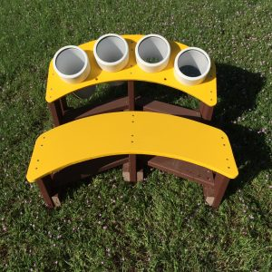Bongo Bench, In-Ground