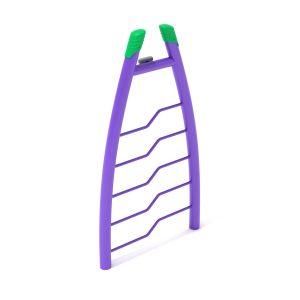 Bent Rung Vertical Ladder
