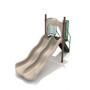 4-foot Double Wave Slide