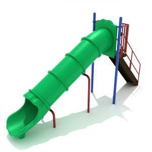 6 Foot Tube Straight Slide