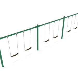3 Bay – Frame with Hangers and 3 Bay Belt Seat Package