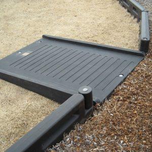 Half Length Wheelchair Ramp for Border
