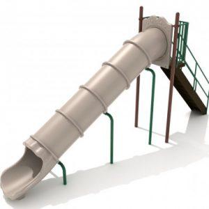 7 Foot Tube Straight Slide