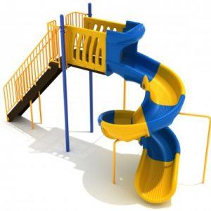 8 Foot Sectional Spiral Slide