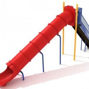8 Foot Tube Straight Slide