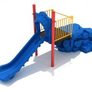 Boulder Climber with Slide