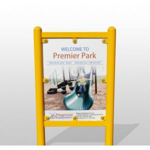 Standard Size Sign, 1 or 2 Sides Custom Images