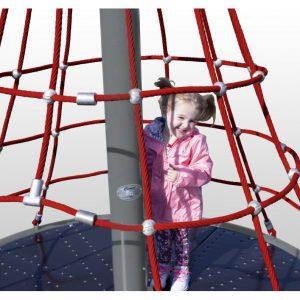 Merry-Go-Round Net Climber