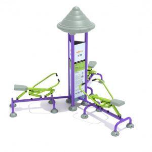 Royal Triple Station Rower