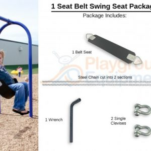 1 Seat Package Belt – 10′ Top Rail