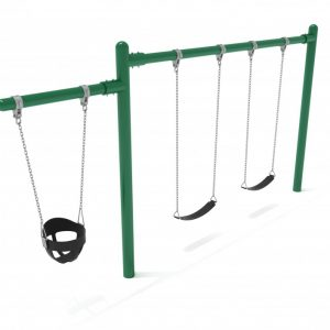 1 Bay 1 Cantilever – Frame with Hangers, 1 Bay Belt Seat Package, 1 Seat Bucket Package