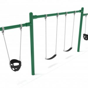 1 Bay 2 Cantilevers – Frame with Hangers, 1 Bay Belt Seat Package, 1 Bay Bucket Package
