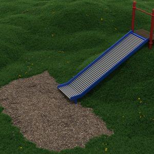 5 Foot Embankment Straight Roller Slide