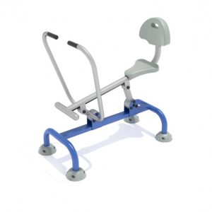 Single Station Rower with Back