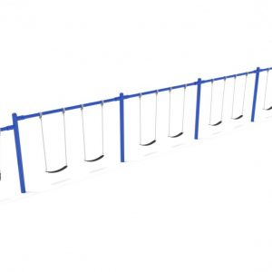 4 Bay 1 Cantilever – Frame Only with Hangers