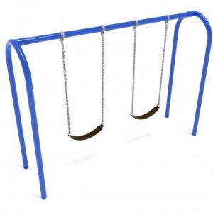 8 Feet High Elite Arch Post Swing – 1 Bay