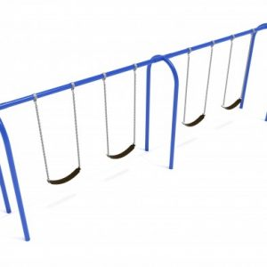 8 Feet High Elite Arch Post Swing – 2 Bays