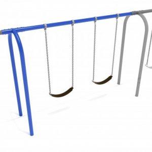 8 feet high Elite Arch Post Swing – Add a Bay