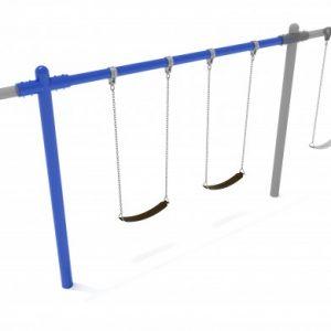 8 Feet High Elite Single Post Swing – Add a Bay